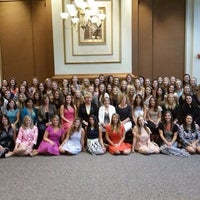 Photo taken at Alpha Xi Delta by Erin F. on 9/13/2014