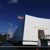 Photo taken at USS Arizona Memorial by Kristin L. on 2/1/2013