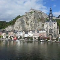 Photo taken at Dinant by Christophe S. on 9/15/2013