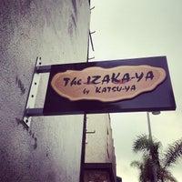 Photo prise au The Izaka-ya by Katsuya par Jason G. le6/6/2013
