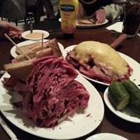 Photo taken at Carnegie Deli by Johnny C. on 5/12/2013