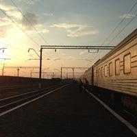 Photo taken at Станція «Цвіткове» by Eduard L. on 4/25/2013