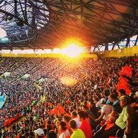 Photo taken at Metalist Stadium by Eduard L. on 5/22/2013