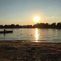 Photo taken at Пляж в Зеленом Бору by Julia A. on 8/12/2016