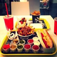 Photo taken at New York Fries by Ömer T. on 9/18/2014