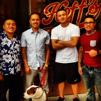 Photo taken at Heff's Barbershop by Abraham on 7/5/2013