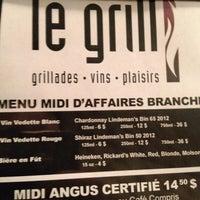 Photo prise au Le Grill par Frédéric T. le1/17/2014