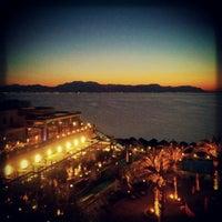 Photo taken at Club Hotel Casino Loutraki by dj zuss on 1/13/2013
