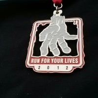 Photo taken at Run for your lives by Adam A. on 12/15/2012