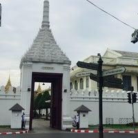 Photo taken at Wiset Chai Si Gate by Nok S. on 12/31/2016