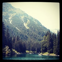 Photo taken at Obernbergersee, Tirol by Paul P. on 7/15/2013