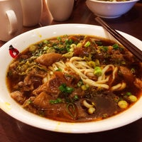 Photo taken at Ding Hao Noodle House by Albert L. on 2/1/2014