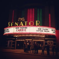 Photo taken at The Senator Theatre by JPalm on 10/19/2013