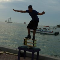 Photo taken at Mallory Square by Robin B. on 12/11/2012