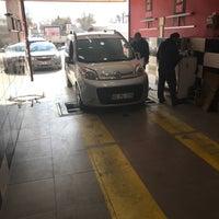 Photo taken at Konya Oto Check-up Ekspertiz Merkezi by Aydın K. on 3/16/2018