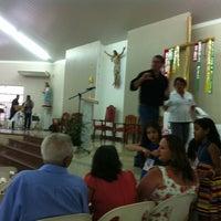 Photo taken at Paróquia São Luiz Gonzaga by eliney N. on 3/16/2013
