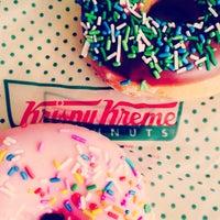 Photo taken at Krispy Kreme Doughnuts by Mary on 8/29/2014
