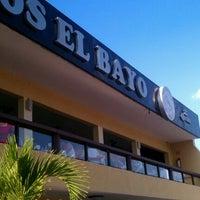 Photo taken at Mariscos El Bayo by Cesar F. on 10/20/2012