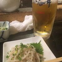 Photo taken at もつやき処 い志井 本店 by Ishida A. on 8/16/2017