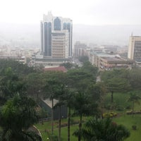 Photo taken at Sheraton Kampala Hotel by BullVight on 9/21/2014