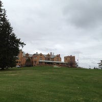 Photo taken at Cranwell Resort, Spa and Golf Club by Korey F. on 4/23/2013
