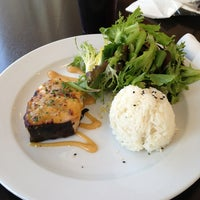 Photo taken at Technique Restaurant & Café by Irma R. on 8/19/2013