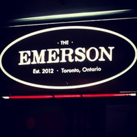Photo taken at The Emerson by Jason P. on 9/14/2013