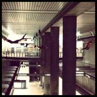 Photo taken at Civic Center Metro Station by Jason P. on 5/12/2013