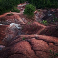 Photo taken at Cheltenham Badlands by Jason P. on 7/22/2013
