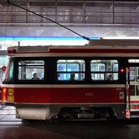 Photo taken at TTC Streetcar #504 King St by Jason P. on 12/16/2014