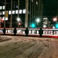 Photo taken at TTC Streetcar #501 Queen by Jason P. on 3/13/2014