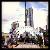 Photo taken at David Pecaut Square by Jason P. on 6/13/2013