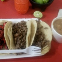Photo taken at Super Tacos Pirata Saul by Gilberto G. on 1/19/2017