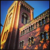 Photo taken at Bovard Administration Building (ADM) by Lici D. on 10/31/2013
