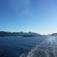 Photo taken at Florø by Jason B. on 3/26/2014