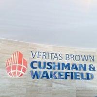 Photo taken at Veritas Brown Cushman &Wakefield by Aliya A. on 7/25/2014
