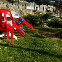 Photo taken at Şaphane Aile Çay Bahçesi by Sema A. on 4/7/2016
