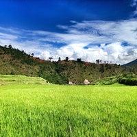 Photo taken at Punakha by Alexia K. on 8/9/2013
