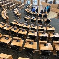 Photo taken at Scottish Parliament by Alexia K. on 8/14/2018
