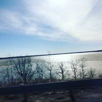 Photo taken at Lake Eufala Bridge by Rebecca on 1/19/2018