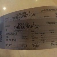 Photo taken at Big Cinemas by Vinayak M. on 9/27/2013