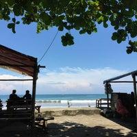 Photo taken at Pantai Pelabuhan Ratu by Novri Y. on 5/7/2016