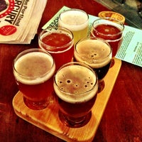Photo taken at Deschutes Brewery Portland Public House by Manuela B. on 2/24/2013