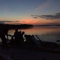Photo taken at Lake Pokegama by Charise W. on 8/15/2014