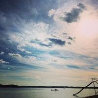Photo taken at Lake Pokegama by Charise W. on 8/13/2014