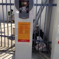 Photo taken at Shell (Hock Hoe Hin Hong Kee Sdn. Bhd.) by emmy on 2/13/2017