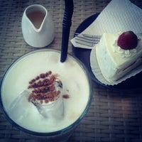 Photo taken at Kakiang Bakery & Cafe by Indri K. on 9/16/2012