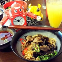 Photo taken at Mie Robot by Mei S. on 1/18/2015