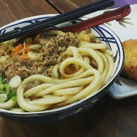 Photo taken at Marugame Udon by Mei S. on 4/26/2017