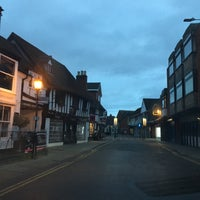 Photo taken at Stratford-upon-Avon by Evelyn L. on 12/25/2016